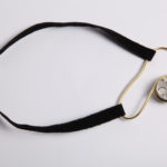 "Necklace ""choker2"", fine silver 925, brass, contact@oro.mk"