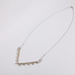 "Necklace ""chipka"", fine silver 925, brass, contact@oro.mk"