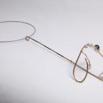 """Necklace """"3D"""",Necklace """"3D"""", fine silver 925, brass, contact@oro.mk fine silver 925, brass, contact@mmarija.com.mk"""